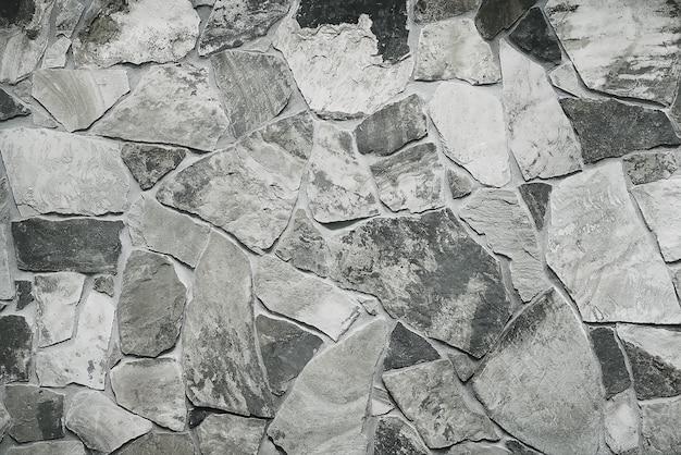 Modern grey stone wall background Premium Photo