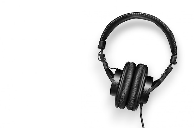Modern headset isolated Premium Photo
