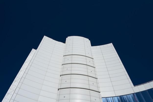 Modern high white business building Premium Photo