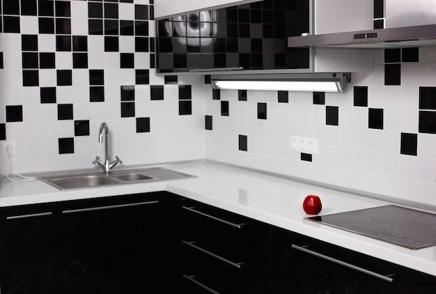 Modern kitchen interior Free Photo
