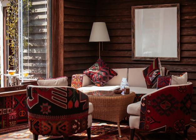 Modern living room Free Photo