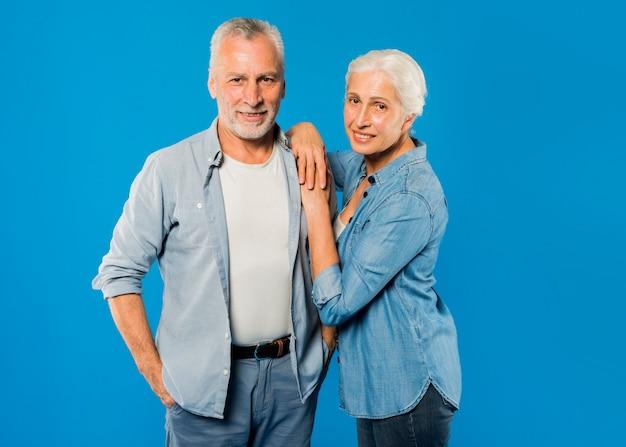 Modern senior couple Free Photo