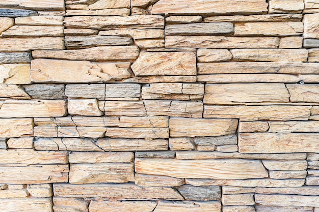 Modern stone brick wall background. stone texture. Free Photo
