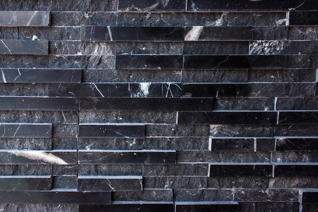 モダンな石の壁の背景 Premium写真