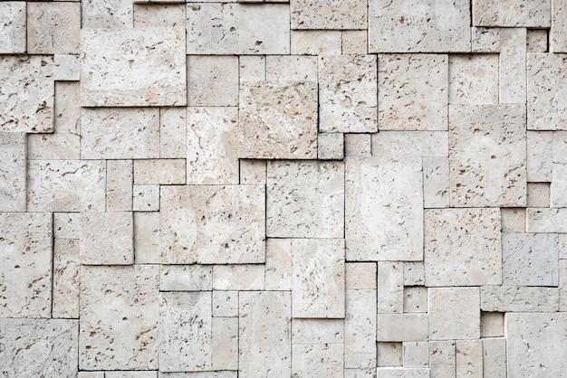 Modern stylish square stone surface background Premium Photo