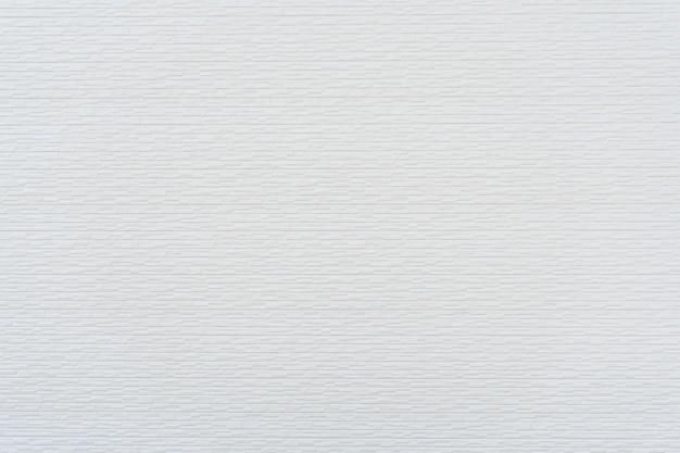 Modern white brick wall texture for background Premium Photo