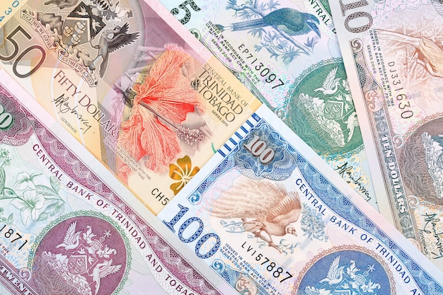Money from trinidad and tobago Premium Photo
