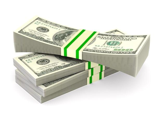 Деньги на пустом пространстве Premium Фотографии