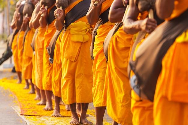 Monks in thailand Premium Photo