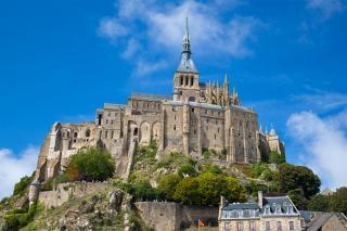 Mont saint michel  cliff Free Photo