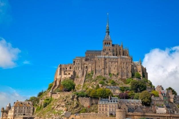 Mont saint michel   hdr Free Photo
