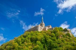 Mont saint michel  normandy Free Photo