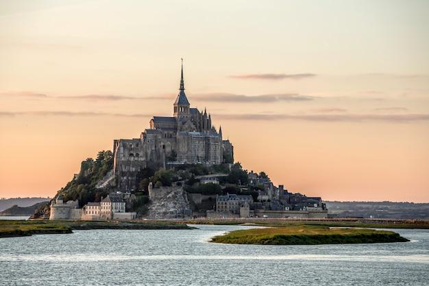 Mont saint michele france Premium Photo