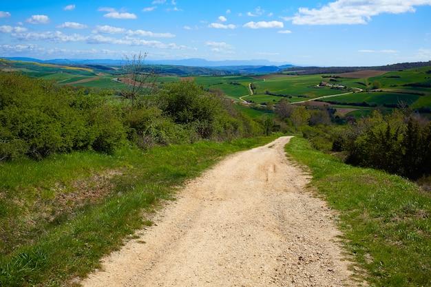 Montes de oca track by the way of saint james Premium Photo