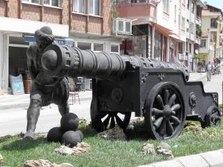 Monument of turkish artillery Free Photo