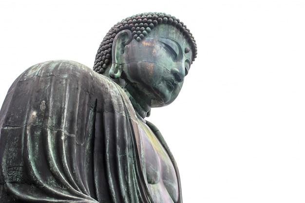 Monumental bronze statue of amitabha buddha. Premium Photo