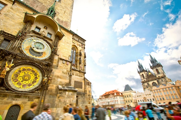 Monuments of prague. Free Photo