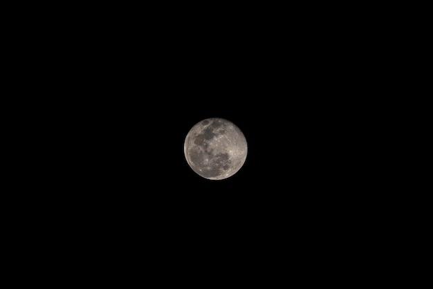 The moon on bangkok, thailand Premium Photo