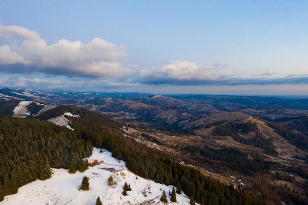 Утро в горах. карпаты, украина, европа beauty world Бесплатные Фотографии