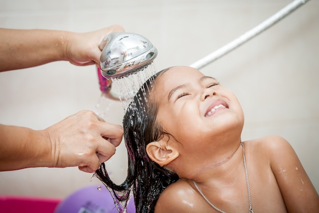 Image result for girl water wash
