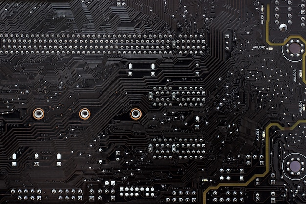 Motherboard (mb), background Premium Photo