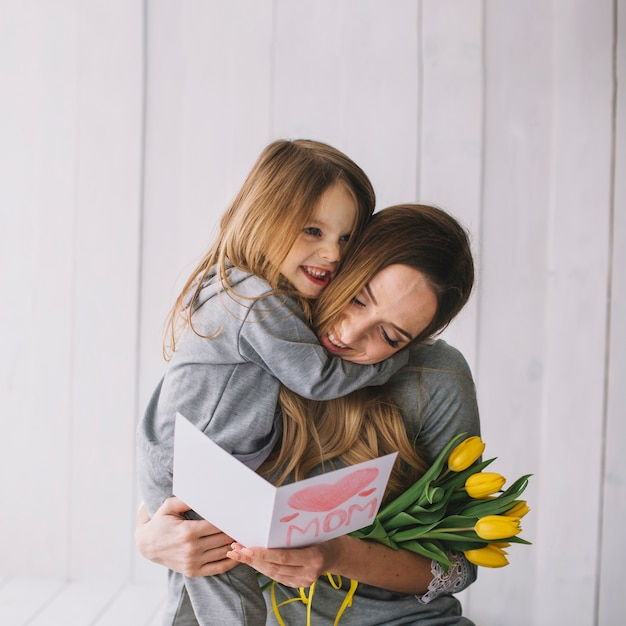 Mothers day concept with mother and daughter together 23 2147776563