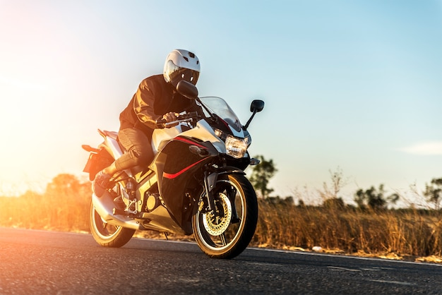 Motorcycle Premium Photo