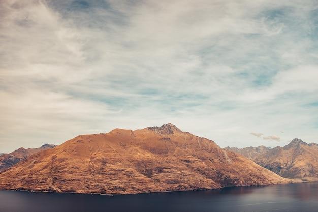 Гора в куинстауне Бесплатные Фотографии