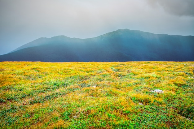 Mountain landscape in autumn Premium Photo