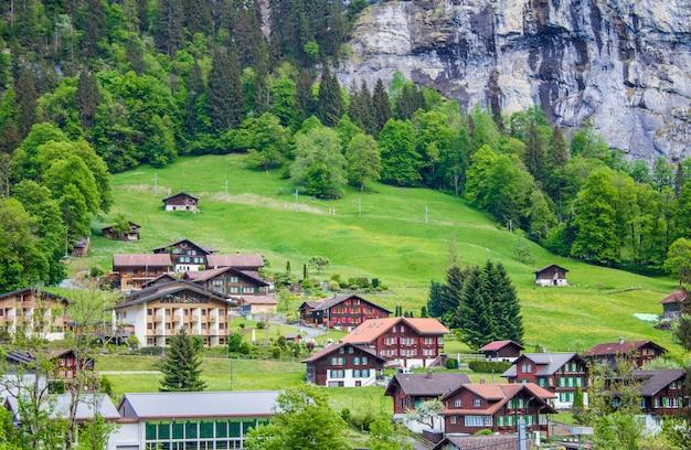 Mountain village Premium Photo