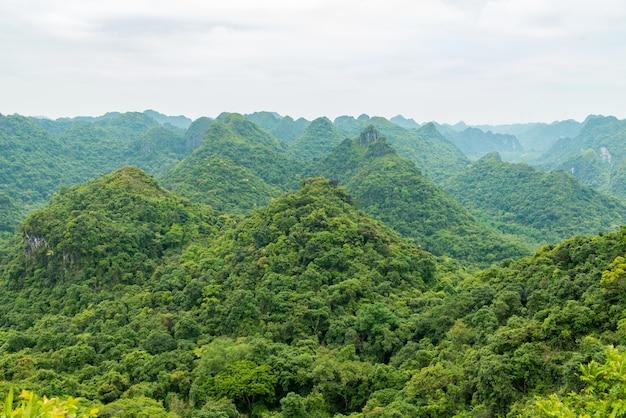 Catba島の山々 無料写真
