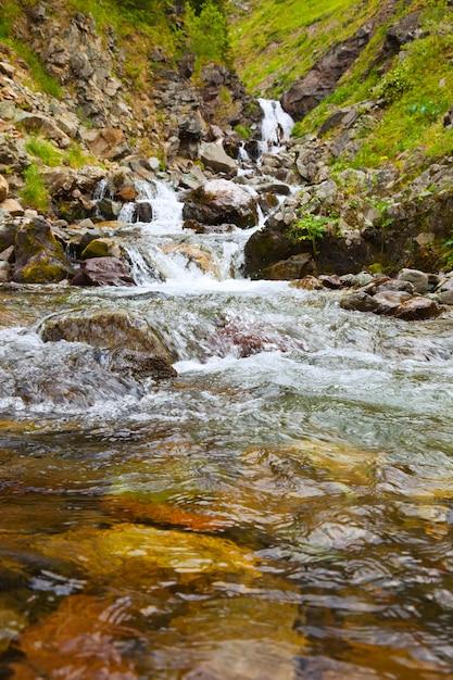 Mountains stream Free Photo