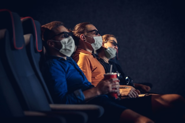 Movie theatre during quarantine Free Photo