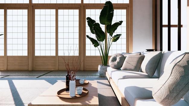 Premium Photo Multi Function Room Ideas Japanese Room Interior Design 3d Rendering