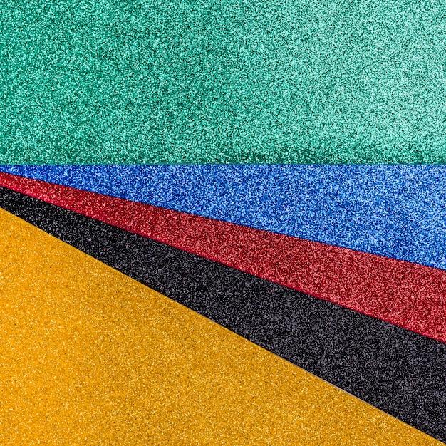 Glitter luminoso multicolore Foto Gratuite