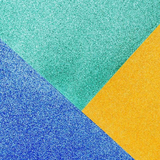 Glitter lucido multicolore Foto Gratuite