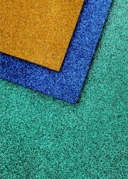 Scintillio vivido multicolore con lo spazio della copia Foto Gratuite