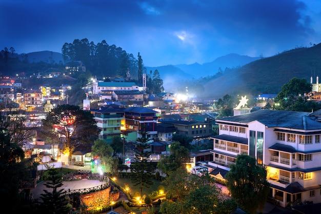 Munnar city in india Premium Photo
