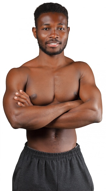 Best Young Black Muscular Male Dj Stock Photos, Pictures