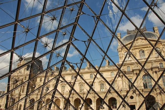 Musee du louvre Premium Photo