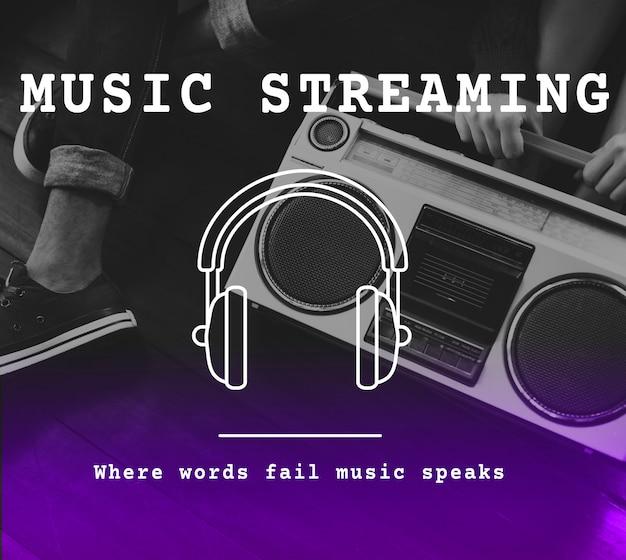 Music audio leisure sound playlist Free Photo