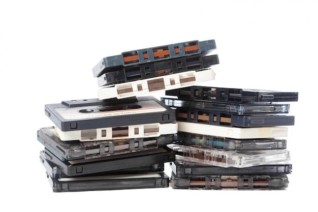 Music audio tape Premium Photo