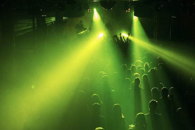 Music festival or rock concert Premium Photo