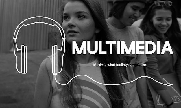 Music lifestyle leisure entertainment concept Free Photo