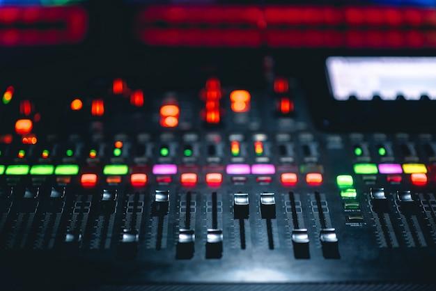 Music mixer console Photo   Premium Download