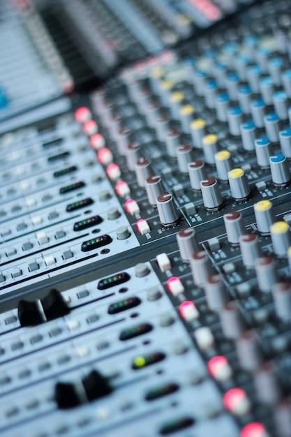 Music mixer desk Photo   Premium Download