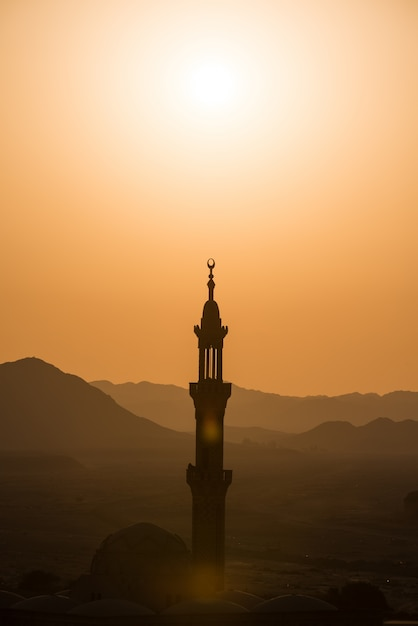 Muslim mosque in desert Free Photo