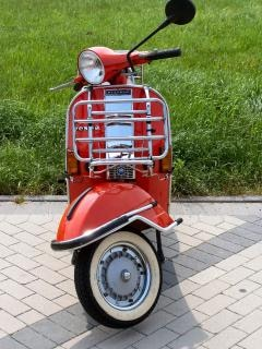 My old vespa scooter Free Photo
