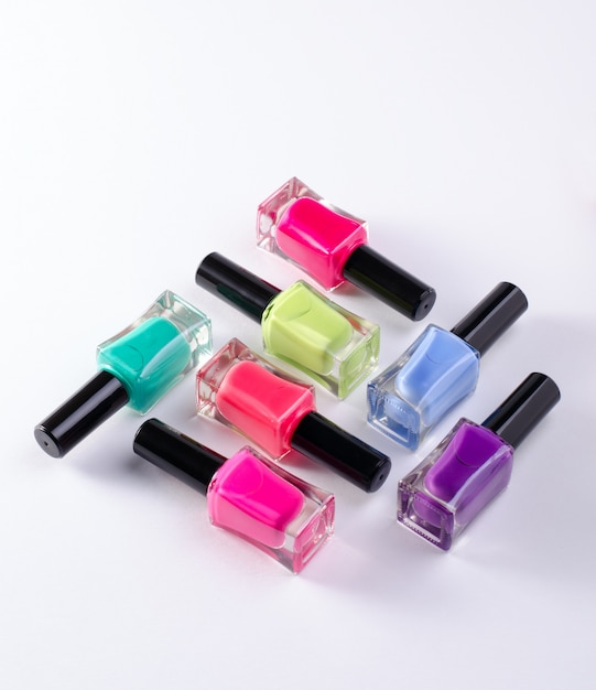 Nail polish tubes Premium Photo