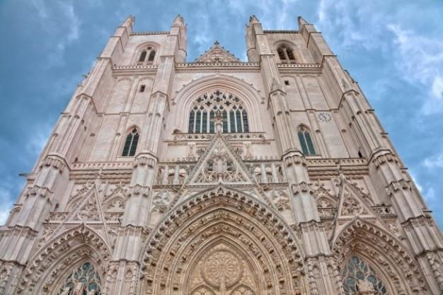 Nantes cattedrale hdr Foto Gratuite